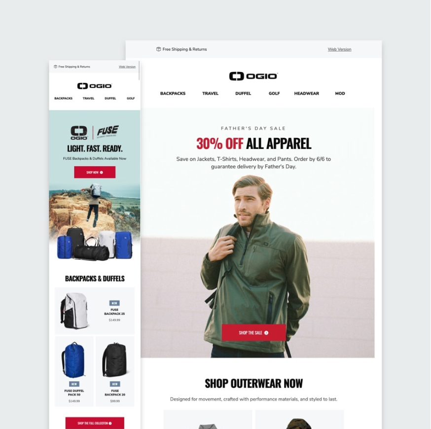 OGIO Email Templates